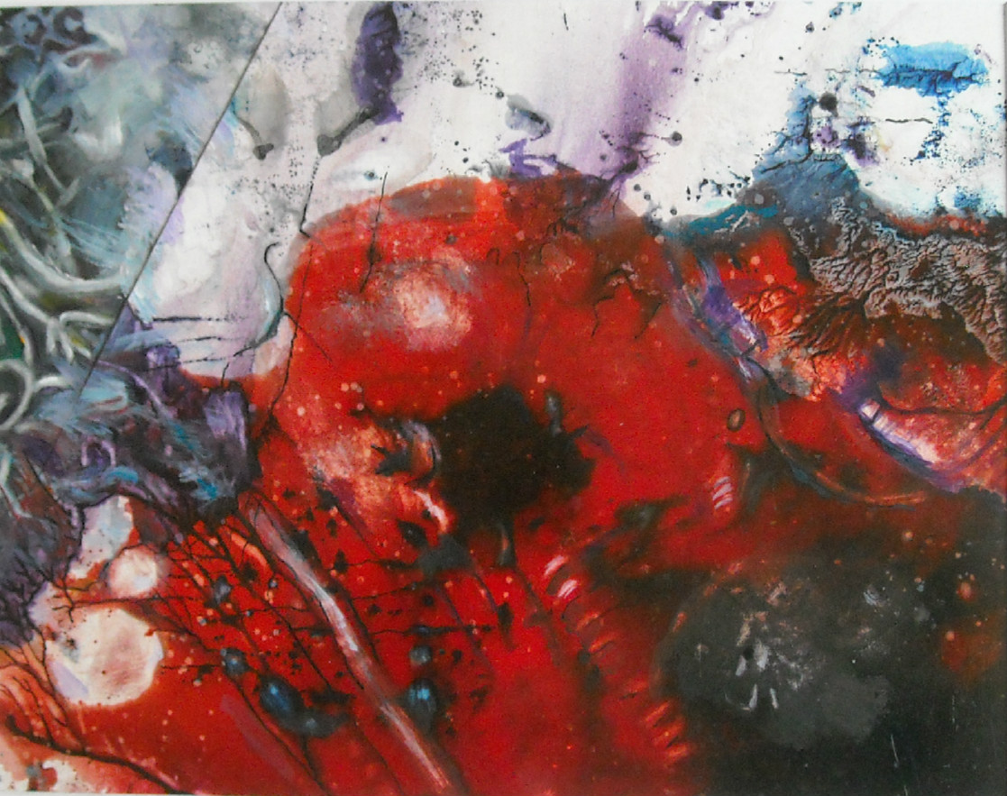 Red Blob by Joan McGue