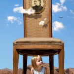 Homage to Curtis-Girl and a Chair by Ruth Ann Lefebvre