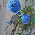 Blue Roses by Cheryl Wasar