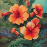 Hibiscus by Cheryl Wasar